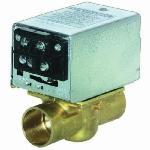 Honeywell V8043F1051/U 2-Way Low Voltage Zone Valve, 1 in, C, 125 psi, 3.5 Cv, 24 VAC, Import