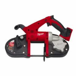 Milwaukee® 2629-20 M18™ Cordless Band Saw, 3-1/4 in Cutting, 35.375 in L x 0.5 in W x 0.02 in THK Blade, 18 VDC, 4 Ah Li-Ion Battery, Bare Tool