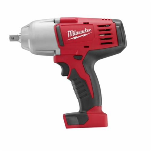 Milwaukee® 2662-20 M18™ Cordless Impact Wrench With Pin Detent, 1/2 in Straight Drive, 0 to 2200 bpm, 450 ft-lb Torque, 18 VDC