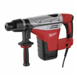 Milwaukee® 5426-21 Corded Rotary Hammer Kit, 1-3/4 in SDS Max Chuck, 2200 to 2840 bpm, 350 to 450 rpm No-Load, 4-1/2 in Core Bit Compatibility, 1-3/4 in Solid Bit Capacity, 18 in OAL