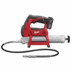 Milwaukee® 2446-21XC M12™ Cordless Grease Gun Kit, 14.5 oz Cartridge, 8000 psi