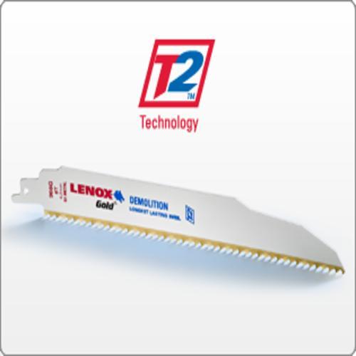 "LENOX 21067-614G GOLD 6""X3/4""X14 TOOTH METAL BLADE"