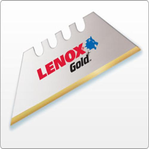 LENOX 20351-GOLD50D BI METAL GOLD UTILITY BLADES 50 CT. DISPENSER