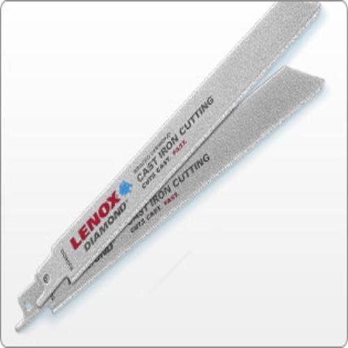 "LENOX 10833-800RDG 8"" DIAMOND RECIPROCATING BLADE FOR CAST IRON"
