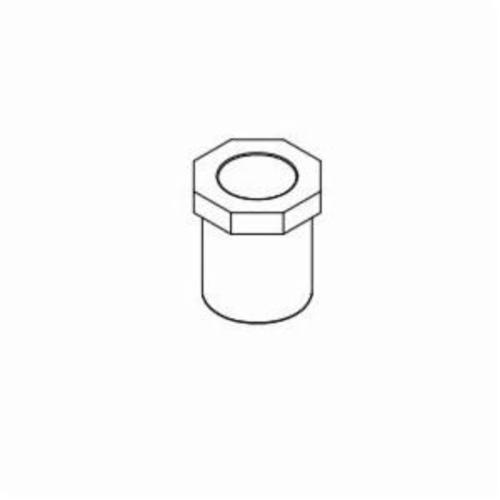 IPEX Corzan® 059375 Pipe Bushing, 3/4 x 1/2 in, Spigot x Socket, SCH 80/XH, CPVC