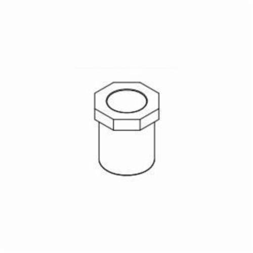 IPEX Corzan® 059399 Pipe Bushing, 6 x 3 in, Spigot x Socket, SCH 80/XH, CPVC