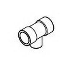 IPEX Corzan® 059494 Pipe Reducing Tee, 1 x 1 x 3/4 in, Socket, SCH 80/XH, CPVC