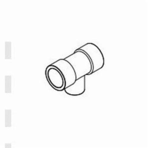 IPEX Corzan® 059496 Pipe Reducing Tee, 1-1/2 x 3/4 in, Socket, SCH 80/XH, CPVC