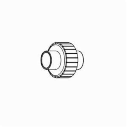IPEX Corzan® 059525 Pipe Union With FKM O-Ring Seal, 2 in, Socket, SCH 80/XH, CPVC
