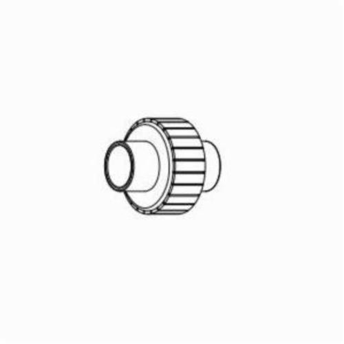 IPEX Corzan® 059571 Pipe Union With EPDM O-Ring, 1/2 in, Socket, SCH 80/XH, CPVC