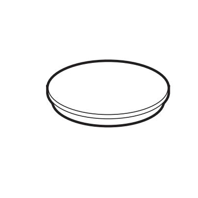 IPEX 123287-2 Backwater Valve Sleeve Lid, For Use With ABS Access Sleeve, 3 in, ABS, Black
