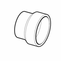 IPEX 103024 DWV Reducer Coupling, 3 x 2 in, Hub, ABS