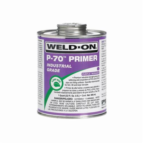 Weld-On® P-70™ 10222 Primer, 1 qt Can, Clear