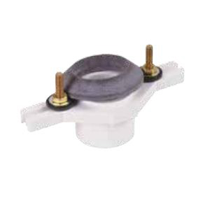 Water-Tite 68005 Adjustable Flush-Tite Urinal Flange, 2 in Pipe, PVC, Domestic