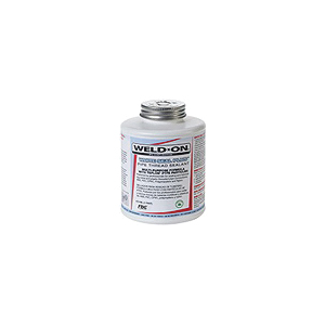 Weld-On® WHITE SEAL™ Plus 80200 Pipe Seal Joint Compound, 2 oz Can, Paste, White, 1.28 at 26.6 deg C