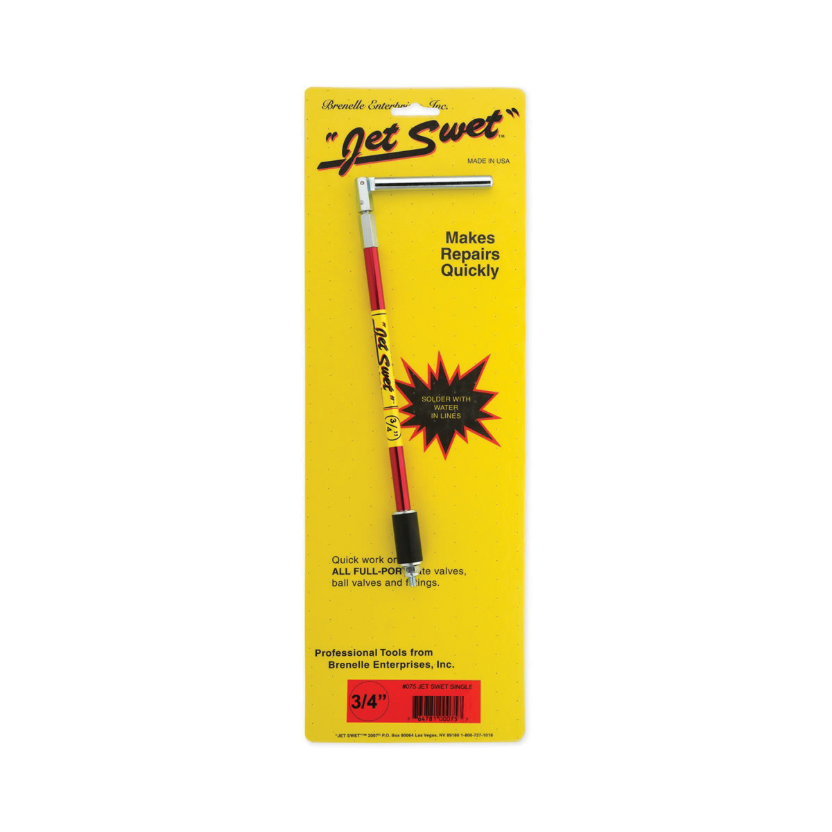 Jet Swet™ #75 Repair Tool, 3/4 in, 14 in L, Steel