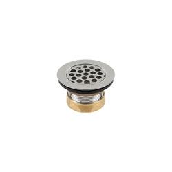 Jomar Valve® Bar-ette™ 300-102 Basket Strainer, For Use With Designers Series Bar Sink Strainer, Brass, Chrome Plated