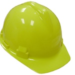 Jones Stephens™ H40003 Safety Hat, 6-1/2 in Fits Mini Hat, 8 in Fits Max Hat, 4-Point Ratchet Suspension