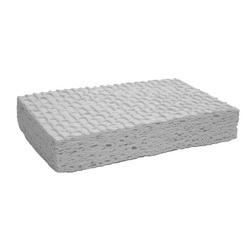 Jones Stephens™ S50002 Large Cellulose Commercial Sponge, 8 in L x 4-1/2 in W x 3/4 in THK