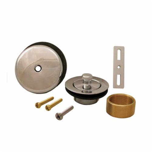 Jones Stephens™ B51019 1-Hole Lift and Turn Bath Waste Conversion Kit, 1-1/2 in, Domestic