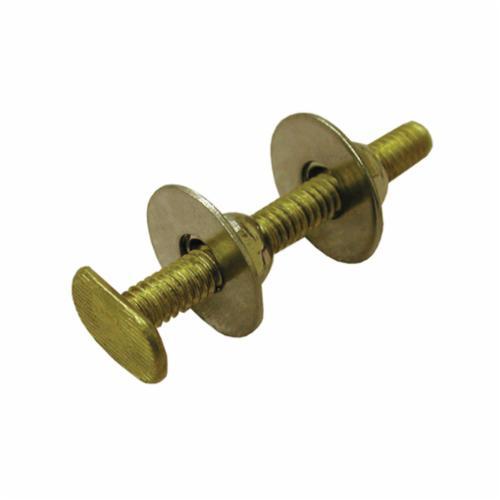 Jones Stephens™ C02999 Closet Bolt, 2-1/4 in OAL, Brass