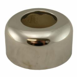 Jones Stephens™ Sure Grip™ E05150 Tubular Box Pattern Escutcheon, 3 in OD, Steel, Chrome Plated