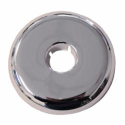 Jones Stephens™ F06124 Flexible Floor/Ceiling Plate, 3.308 in OD, Plastic, Chrome Plated