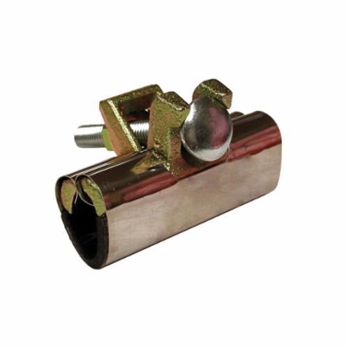 Jones Stephens™ R30075 1-Bolt Repair Clamp With Neoprene Gaskets, 3 in Pipe, 301 Stainless Steel