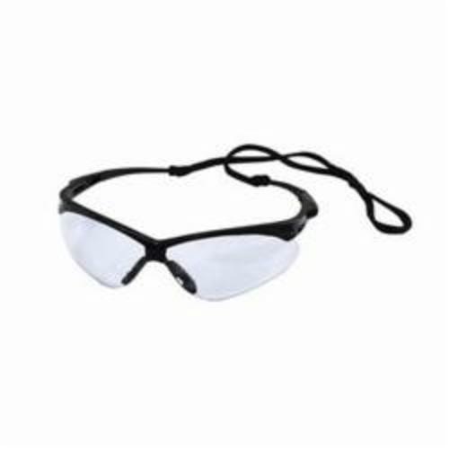 Jones Stephens™ Nemesis® G30012 Safety Glass, Smoke Mirror Lens, Black Frame