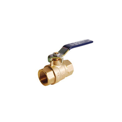 LEGEND 101-417NL T-2000NL Ball Valve, 1-1/2 in, FNPT, Forged Brass Body, Full Port, Import