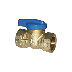 LEGEND Blue Top™ 102-104 T-3000 1-Piece Gas Ball Valve, 3/4 in, FNPT, Forged Brass Body, Import