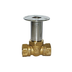 LEGEND 102-863 T-3500 Straight Quarter Turn Log Lighter Valve, 1/2 in, FNPT, Forged Brass Body, Import