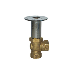 LEGEND 102-873 T-3501 Quarter Turn Angle Log Lighter Valve, 1/2 in, FNPT, Forged Brass Body, Import