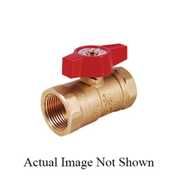 LEGEND Red Top™ 102-903 T-3005 Ball Valve, 1/2 in, FNPT, Forged Brass Body, Import