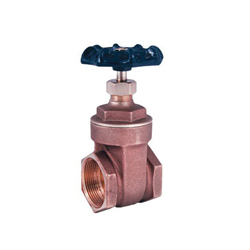 LEGEND 104-708NL T-408NL Gate Valve, 2 in, FNPT, Cast Brass Body, Handwheel Actuator, Import