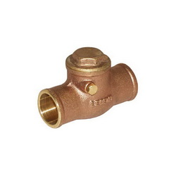 LEGEND LEGEND GREEN™ 105-207NL S-451NL Swing Check Valve, 1-1/2 in, C, Cast Brass Body, Low Lead Compliance: Yes, Import