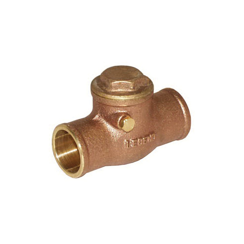 LEGEND 105-203 S-451 Swing Check Valve, 1/2 in, C, Cast Brass Body, Import