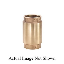LEGEND LEGEND GREEN™ 105-423NL T-450NL In-Line Check Valve, 1/2 in, FNPT, Cast Bronze Body, Low Lead Compliance: Yes, Import