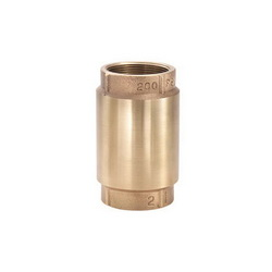 LEGEND LEGEND GREEN™ 105-428NL T-450NL In-Line Check Valve, 2 in, FNPT, Cast Bronze Body, Low Lead Compliance: Yes, Import