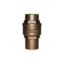 LEGEND LEGEND GREEN™ 105-463NL S-455NL In-Line Check Valve, 1/2 in, C, Cast Bronze Body, Low Lead Compliance: Yes, Import