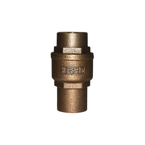 LEGEND LEGEND GREEN™ 105-464NL S-455NL In-Line Check Valve, 3/4 in, C, Cast Bronze Body, Low Lead Compliance: Yes, Import