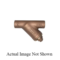 LEGEND 105-513NL S-15NL Wye Strainer, 1/2 in, 3.35 in OAL, C, Cast Bronze, Import