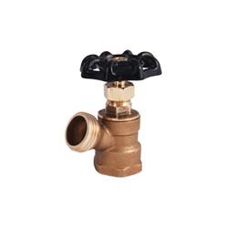 LEGEND 107-155 T-522 Boiler Drain Valve, 3/4 in, FNPT x Garden Hose Thread, 125 psi CWP, Brass Body, Import