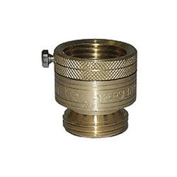 LEGEND 107-194NL T-553NL Vacuum Breaker, 3/4 in, Female Garden Hose Thread x Male Garden Hose Thread, Brass Body, Import