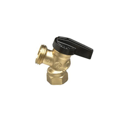 LEGEND 107-554NL R-672NL Boiler Drain Valve, 1/2 in, FNPT, 200 psi CWP, Forged Brass Body, Import