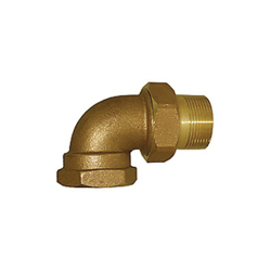 LEGEND 110-169 T-438 Union Elbow, 1-1/4 in, FNPT, Bronze, Import