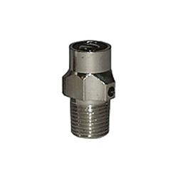 LEGEND 110-338 T-77 Coin Key Air Vent, 1/8 in, MNPT, 125 psi, 200 deg F, Brass, Import