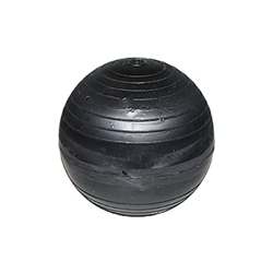 LEGEND 111-274 Float Ball, 6 in Dia, 1/4-20 Thread, Plastic/Polystyrene, Domestic