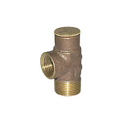 LEGEND 111-304NL T-50NL PRV Pressure Relief Valve, 3/4 in, MNPT x FNPT, 150 psi, Brass Body, Import