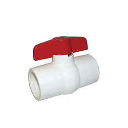 LEGEND 201-408 S-601 Compact Miniature Ball Valve, 2 in, Solvent, PVC Body, Full Port, Import